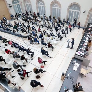 PARLAMENT catalunya sesión investidura pere aragonès erc / acn