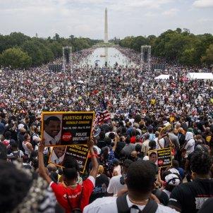 protesta black lives matter george floyd washington efe