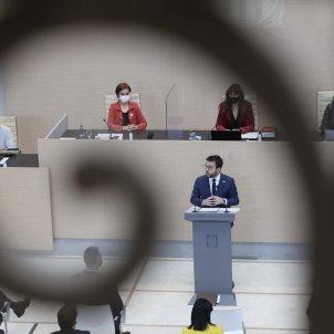 Pere Aragonès debate investidura Sergi Alcàzar