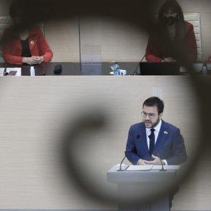 Debate investidura pere aragonès Sergi Alcàzar