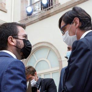 pere aragonès y salvador illa debate investidura EFE