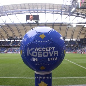 Kosovo Fútbol UEFA / Wikimedia Commons / Blerimuka