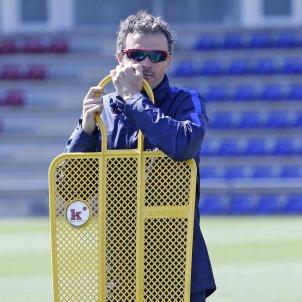Luis Enrique entrenament Barça CE FCB