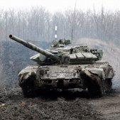 Donbás tanque Ucraina - efe