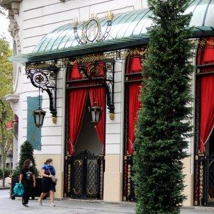 Plano obierto del Hotel Palace de Barcelona / ACN
