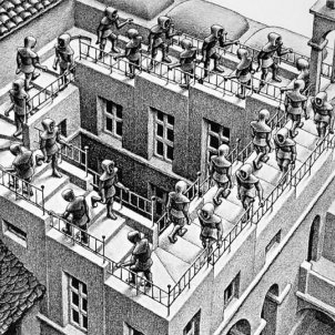 Escher Sube y baja escher