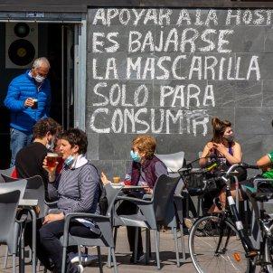 terraza restaurante Vitoria País Vasco / EFE