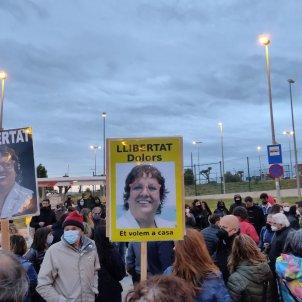 Puig de les Basses - concentración apoyo Bassa - Assemblea