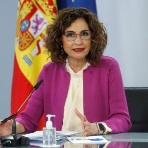 María Jesus Montero Hisenda EFE