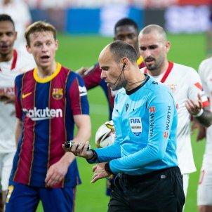 Mateu Lahoz Barca Sevilla De Jong Europa Press