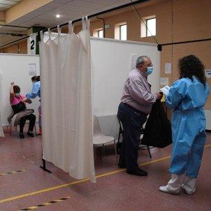 centro vacunación Castilla y León / EFE