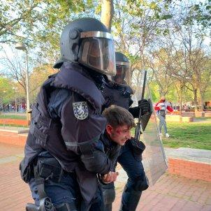 Detenido manifestacion antiVox / Nicolas Tomás
