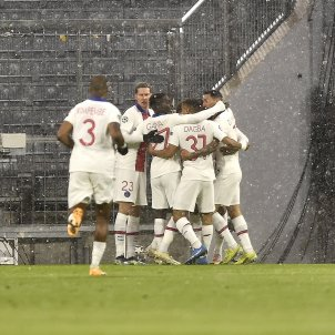 Celebracion gol PSG Bayern Champions EFE