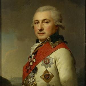Josep de Ribas conquereix Crimea per a Rússia. Retrat de Josep de Ribes. Font Museu de l'Hermitage. Saint Petersburg