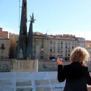 monumento franquista tortosa alcaldesa meritxell roige aragones capella acn