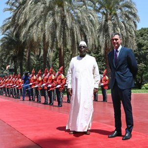 Pedro Sánchez  Macky Sall Senegal EFE
