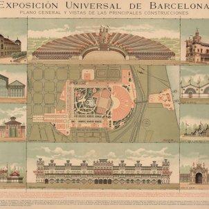 S'inaugura l'Exposició Universal de 1888. Plànol