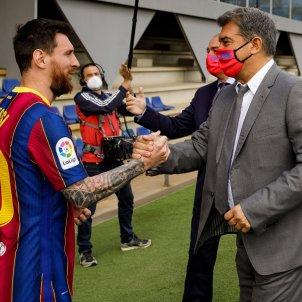 Messi Joan Laporta / FC Barcelona