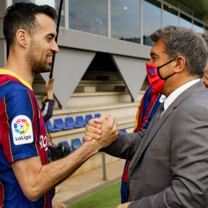 Busquets Joan Laporta / FC Barcelona