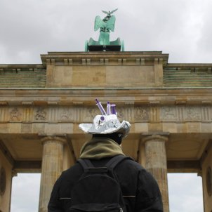 Berlín Alemania manifestación puerta Puerta de Brandemburgo de Berlín / EFE