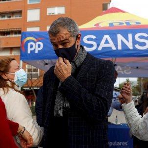 Toni cantó acto campaña elecciones madrid 4 mayo / EFE