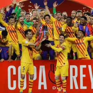 Barca celebracion Copa Rey EFE