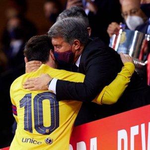 Joan Laporta Leo Messi Barca @JoanLaportaFCB