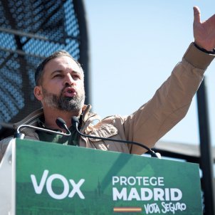 Santiago Abascal Vox EFE