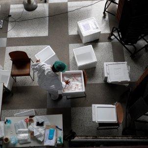 coronavirus tests efe
