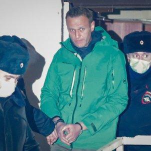alexei navalni russia efe arrest 18 gener