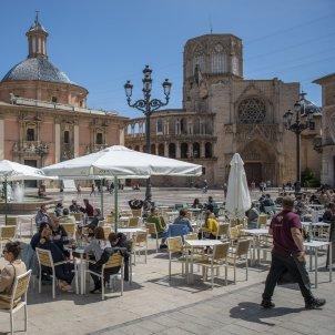 Terraza plaza catedral de valencia - Jorge Gil / Europa Press