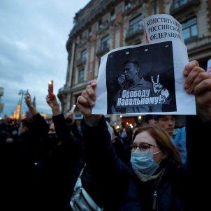 Manifestaciones navalni rusia putin / EFE