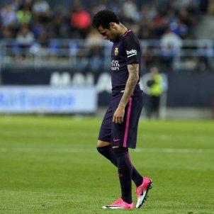 Neymar Barça Malaga expulsio EFE