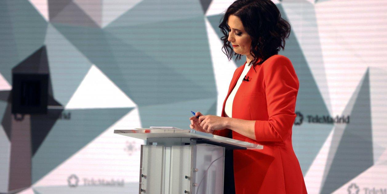 Ayuso Debat Telemadrid - Efe