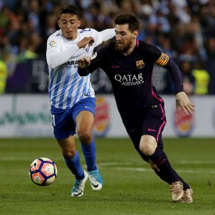 Leo Messi Barça Malaga EFE