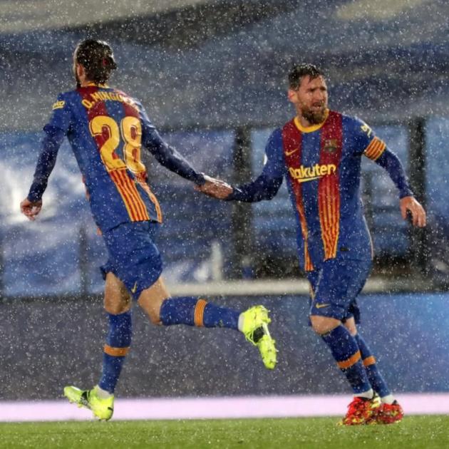 Oscar Mingueza Messi Barca Real Madrid @fcb