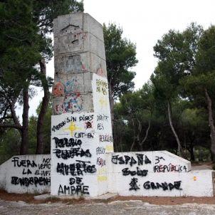 coll del moro monument franquista acn