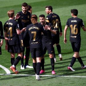 Barca Villarreal gol celebracion Europa Pressl