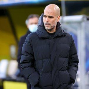 Pep Guardiola triste Europa Press