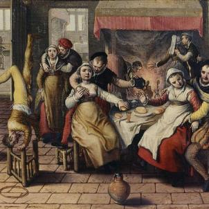Test 125. Representació d'un prostibul, obra de Beuckelaer (1562). Font Walters Art Museum. Baltimore