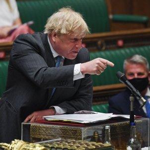 Boris Johnson Cámara Comunes financiación apartamento Efe