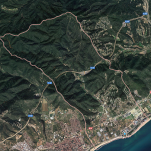 santa susanna google maps