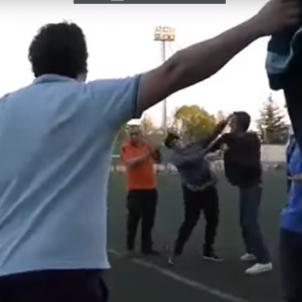 Batalla pares futbol Logroño