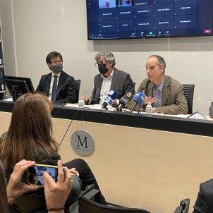 Roda de premsa Jordi Turull - Laura borras