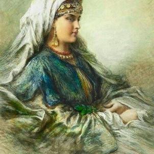 Representació moderna de Sayyid Mandri. Font Pinterest