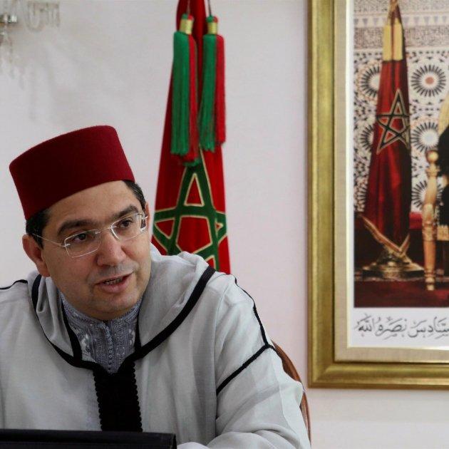 ministro marroquí de Exteriores Nasar Burita EFE