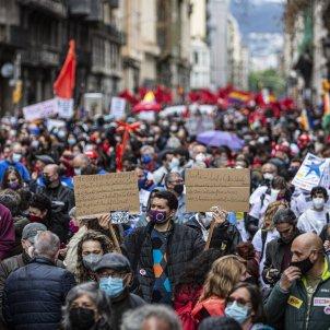 Manifestación 1 de Mayo dia trabajador ccoo ugt / Montse Giralt
