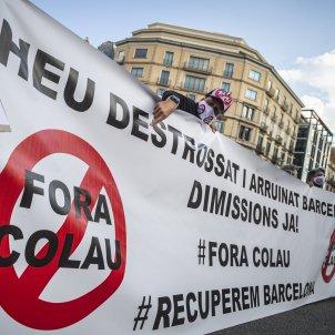 Manifestación Contra Ada Colau Barcelona 12/ Montse Giralt