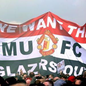 Manchester United Old Trafford Glazer Europa Press