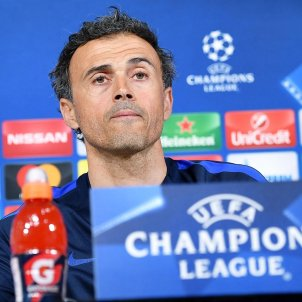 Luis Enrique Barça Champions League Efe